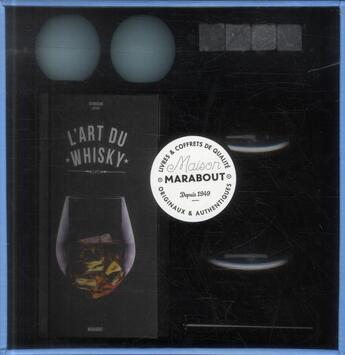 Couverture du livre « Amateur de whisky ; coffret » de Collectif aux éditions Marabout