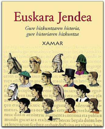 Couverture du livre « Euskara jendea » de Xamar aux éditions Pamiela