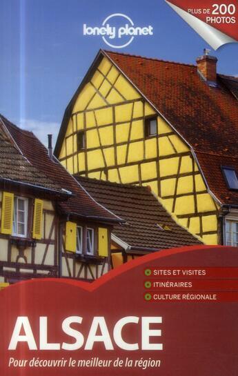Couverture du livre « Alsace » de Collectif aux éditions Lonely Planet France