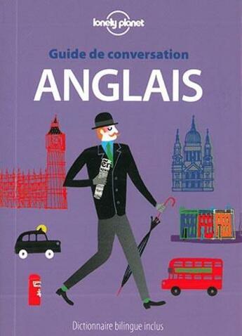Couverture du livre « GUIDE DE CONVERSATION ; anglais (9e édition) » de Collectif aux éditions Lonely Planet France