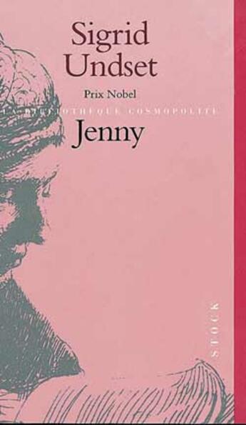 Couverture du livre « Jenny » de Sigrid Undset aux éditions Stock