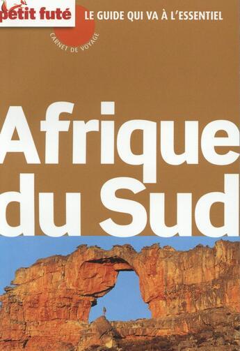 Couverture du livre « GUIDE PETIT FUTE ; CARNETS DE VOYAGE ; Afrique du Sud (édition 2015) » de Collectif Petit Fute aux éditions Le Petit Fute