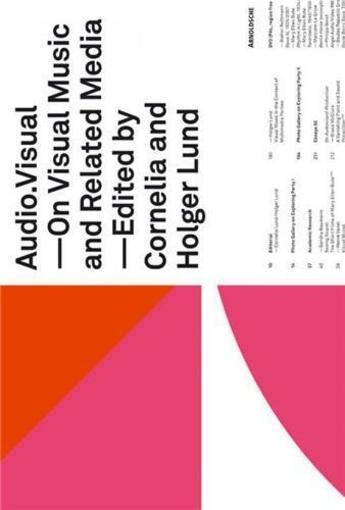 Couverture du livre « Audio Visual /Anglais » de Collectif aux éditions Arnoldsche