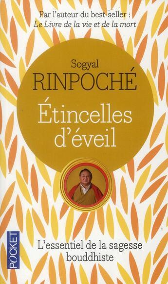 Couverture du livre « Étincelles d'éveil » de Sogyal Rinpoche aux éditions Pocket