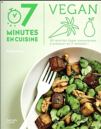 Couverture du livre « Vegan » de Emilie Perrin aux éditions Hachette Pratique