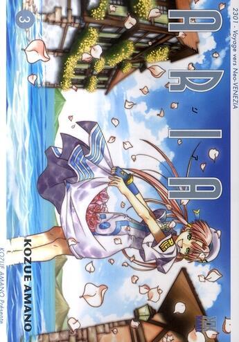 Couverture du livre « Aria t.3 » de Kozue Amano aux éditions Kami