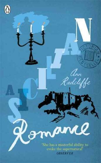 Couverture du livre « A SCILIAN ROMANCE » de Ann Radcliffe aux éditions Adult Pbs