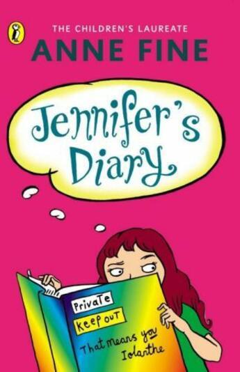 Couverture du livre « Jennifer's Diary » de Anne Fine aux éditions Penguin Books Ltd Digital