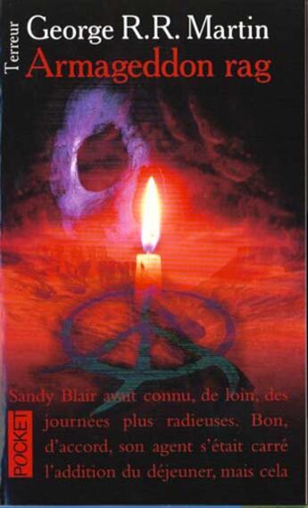 Couverture du livre « Armaggedon Rag » de Georges-R-R Martin aux éditions Pocket