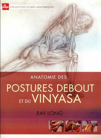 Couverture du livre « Anatomie des postures debout et du vinyasa » de Ray Long et Chris Macivor aux éditions La Plage