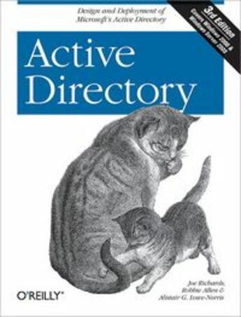 Couverture du livre « Active Directory » de Collectif aux éditions O Reilly