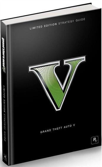 Couverture du livre « Grand Theft Auto V Limited Edition Strategy Guide » de Bradygames aux éditions Dk Brady Games