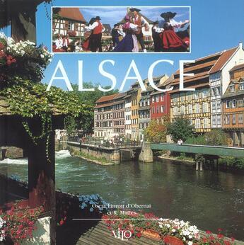 Couverture du livre « Alsace » de Oscar Linrott D'Obernai aux éditions Vilo