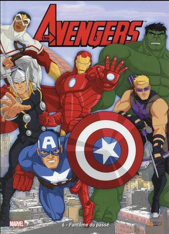 Couverture du livre « Avengers T.6 ; fantôme du passé » de Collectif aux éditions Panini