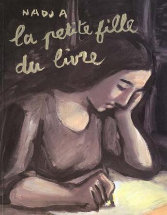 Couverture du livre « La petite fille du livre » de Nadja aux éditions Ecole Des Loisirs