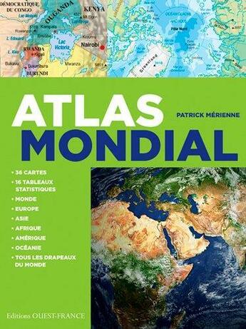 Couverture du livre « Atlas mondial » de Patrick Merienne aux éditions Ouest France
