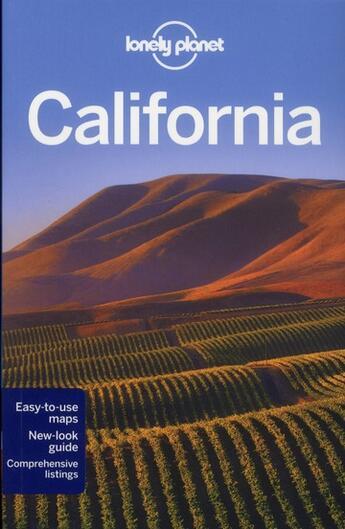 Couverture du livre « California (6e édition) » de Sara Benson aux éditions Lonely Planet France