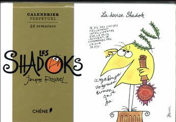Couverture du livre « Calendrier Shadoks » de Collectif aux éditions Chene
