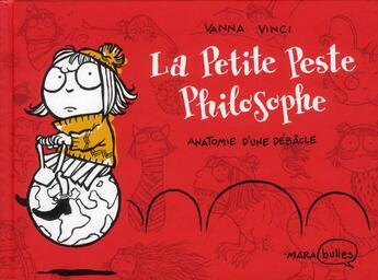 Couverture du livre « La Petite Peste philosophe » de Vanna Vinci aux éditions Marabout