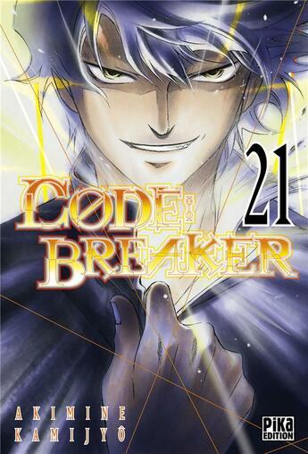 Couverture du livre « Code breaker t.21 » de Akimine Kamijyo aux éditions Pika
