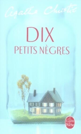 Couverture du livre « Dix petits nègres » de Agatha Christie aux éditions Lgf