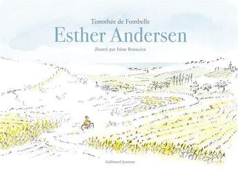 Couverture du livre « Esther Andersen » de Timothée de Fombelle et Irene Bonacina aux éditions Gallimard-jeunesse