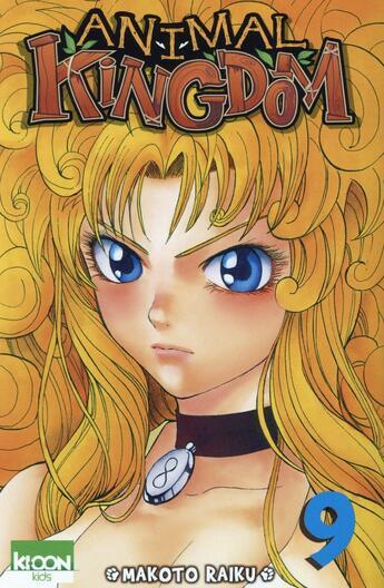 Couverture du livre « Animal kingdom t.9 » de Makoto Raiku aux éditions Ki-oon