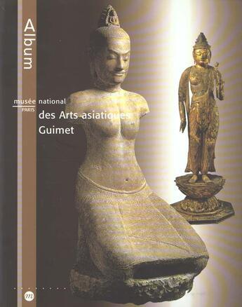 Couverture du livre « Album Du Musee National Des Arts Asiatiques ; Guimet » de Collectif aux éditions Reunion Des Musees Nationaux