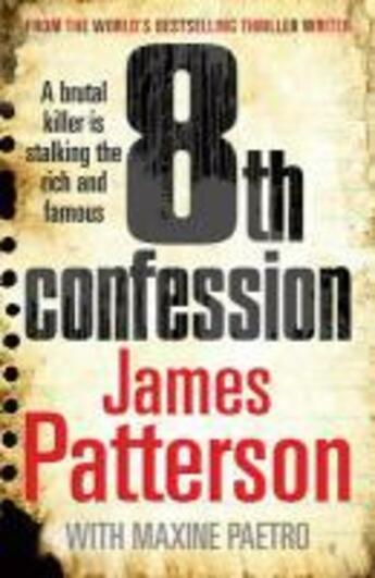 Couverture du livre « 8th confession » de James Patterson et Maxine Paetro aux éditions Random House Digital