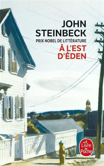 Couverture du livre « À l'est d'Eden » de John Steinbeck aux éditions Lgf