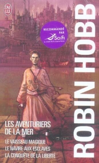 Couverture du livre « Coffret robin hobb » de  aux éditions J'ai Lu