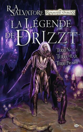 Couverture du livre « La légende de Drizzt ; INTEGRALE T.1 A T.3 » de Andrew Dabb et Tim Seeley aux éditions Hicomics