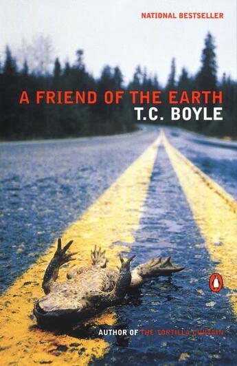 Couverture du livre « A friend of the earth » de T. Coraghessan Boyle aux éditions Bloomsbury