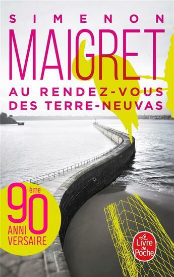 Couverture du livre « Au rendez-vous des Terres-Neuvas » de Georges Simenon aux éditions Lgf