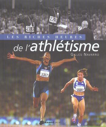 Couverture du livre « Athletisme » de Gilles Navarro aux éditions Mango-pratique