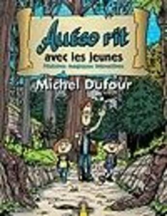 Couverture du livre « Allégo rit avec les jeunes » de Michel Dufour aux éditions Jcl