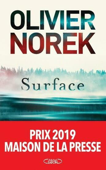 Couverture du livre « Surface » de Olivier Norek aux éditions Michel Lafon