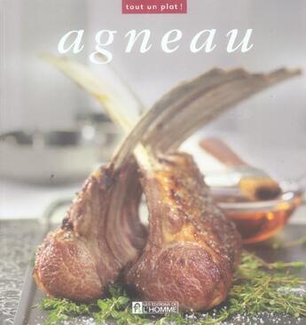 Couverture du livre « Agneau » de Collectif aux éditions Editions De L'homme
