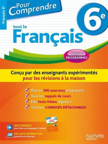 Couverture du livre « 6e » de Isabelle De Lisle aux éditions Hachette Education