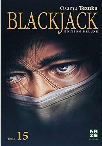 Couverture du livre « Blackjack deluxe t.15 » de Osamu Tezuka aux éditions Kaze