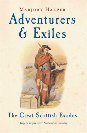 Couverture du livre « Adventurers And Exiles » de Marjory Harper aux éditions Profil Digital