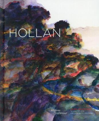 Couverture du livre « Alexandre Hollan » de Collectif aux éditions Corlevour