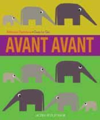 Couverture du livre « Avant avant » de Kethevane Davrichewy aux éditions Actes Sud Junior