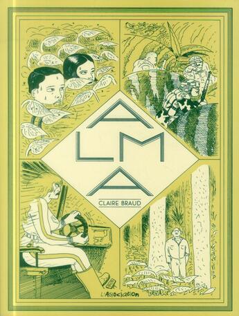 Couverture du livre « Alma » de Claire Braud aux éditions L'association