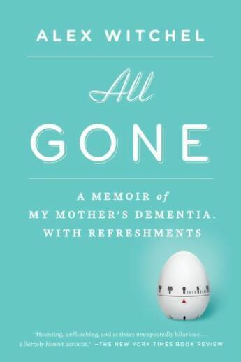 Couverture du livre « All Gone » de Witchel Alex aux éditions Penguin Group Us