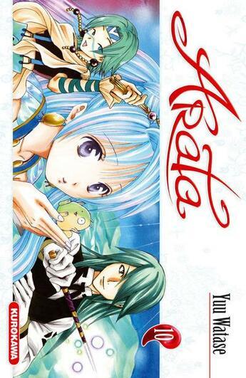 Couverture du livre « Arata t.10 » de Yuu Watase aux éditions Kurokawa