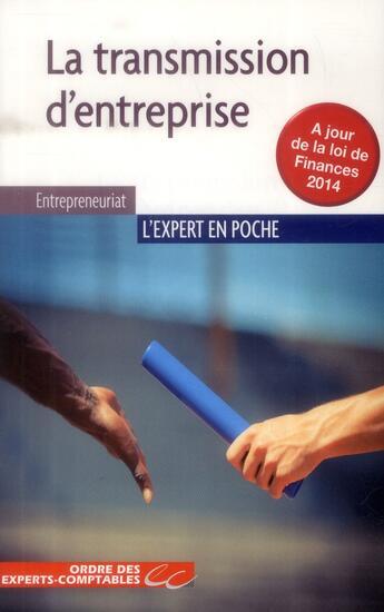 Couverture du livre « La transmission d'entreprise » de Laurent Benoudiz et Fabrice Luzu et Jean-Luc Scemama aux éditions Oec