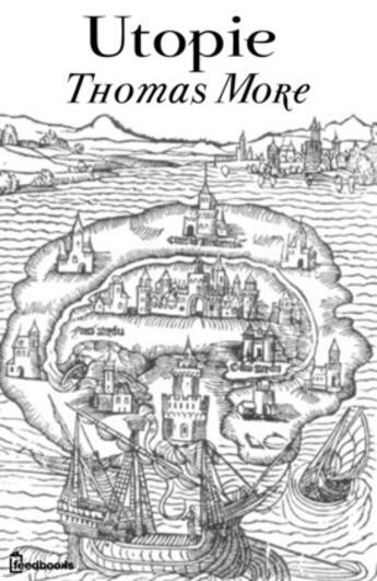 Couverture du livre « L'Utopie » de Thomas More aux éditions