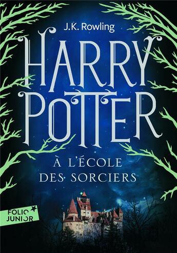 Couverture du livre « Harry Potter T.1 ; Harry Potter à l'école des sorciers » de J. K. Rowling aux éditions Gallimard-jeunesse