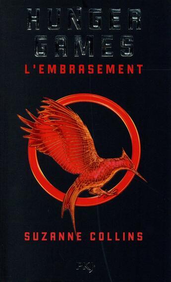 Couverture du livre « Hunger games t.2 ; l'embrasement » de Suzanne Collins aux éditions Pocket Jeunesse